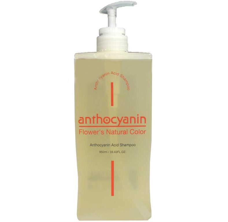 Кислотный шампунь антоцианин, 950 мл