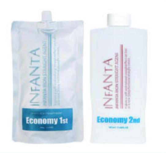 Крем для выпрямления волос Инфанта Экономи, 500г/500г
