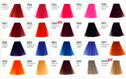 краска для волос Антоцианин 40 живых, ярких тонов.