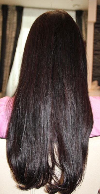 Ламинирование волос, фотографии до